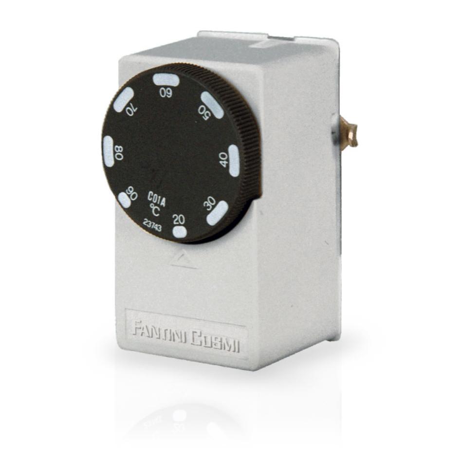 C01 termostati a contatto fantinicosmi for Termostati fantini cosmi prezzi