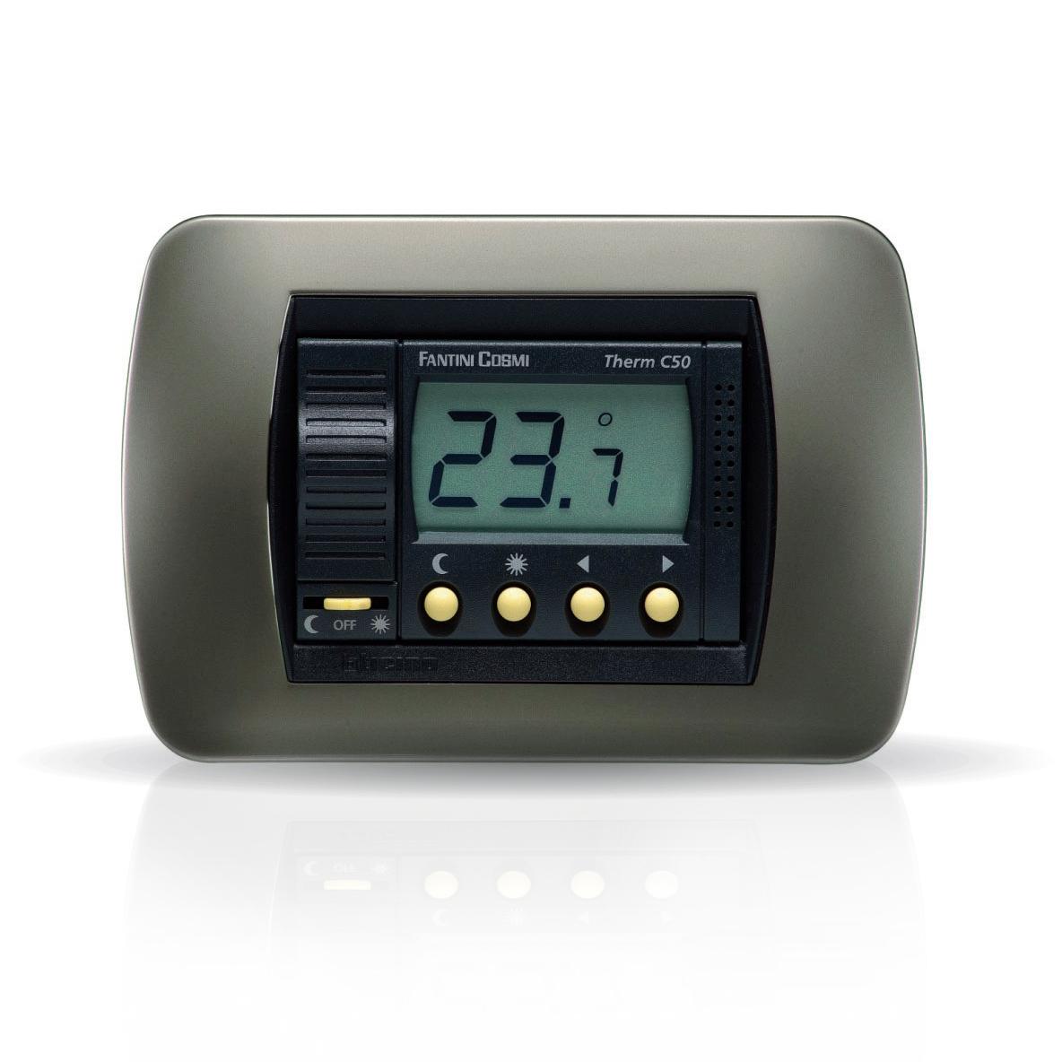 C50 Termostati Ambiente Da Incasso A Batterie 2