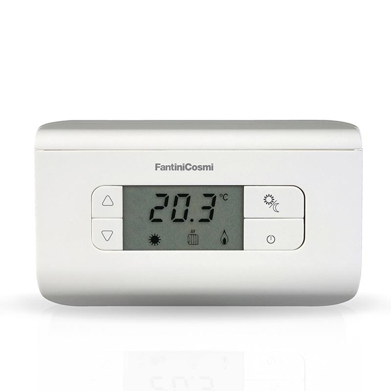 Schemi Elettrici Legenda : Ch115 termostato ambiente a batterie 3 temperature fantinicosmi