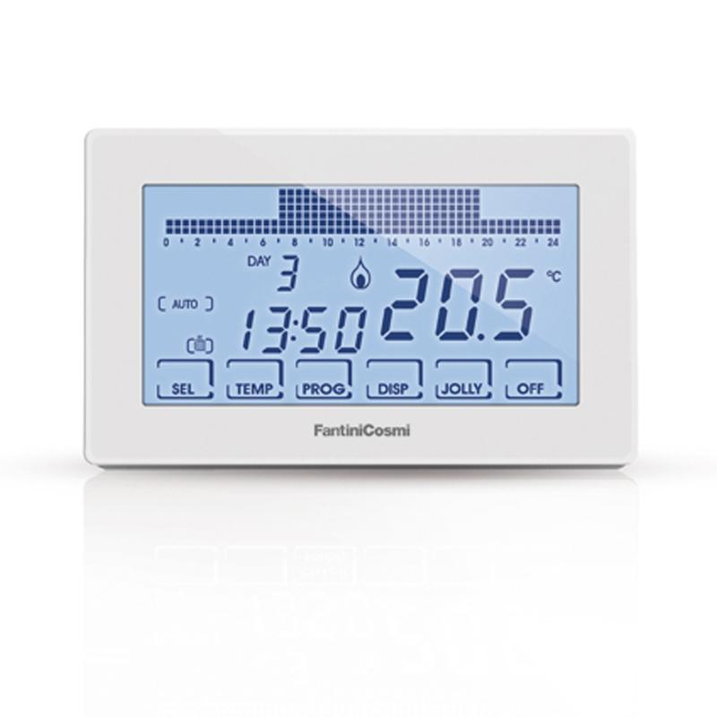 Intellicomfort ch180 230v cronotermostato settimanale for Intellicomfort ch180