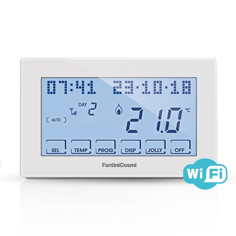 Intellicomfort ch180wifi cronotermostato settimanale touch for Intellicomfort ch180