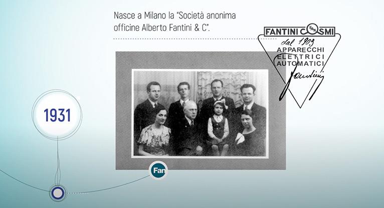 Fantini Cosmi celebrate 90 years
